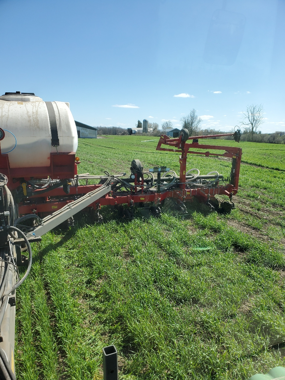 Planting April 26th into standing rye