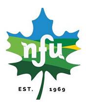NFU established 1969 logo